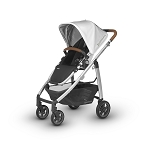 UPPAbaby Cruz - Loic (White/Silver/Leather)