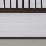 Oilo Crib Skirt - White