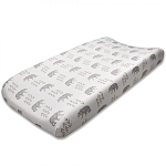 Liz and Roo Contoured Changing Pad Cover - Cubby