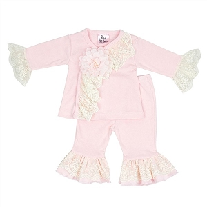 Haute Baby Chic Petit Criss Cross Set