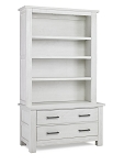 Dolce Babi Lucca Chest & Bookcase - Sea Shell