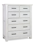 Dolce Baby Lucca 7 Drawer Chest - Sea Shell