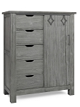 Dolce Baby Lucca Chifforobe - Weathered Grey