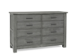 Dolce Baby Lucca Dresser - Weathered Grey