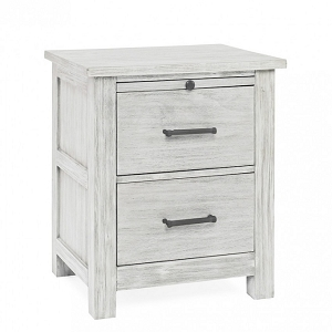 Dolce Baby Lucca Nightstand - Sea Shell