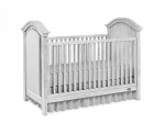 Dolce Baby Lucca Upholstered Crib - Sea Shell