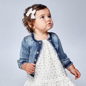 Mayoral Baby Girl Denim Jacket