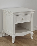 Pali Diamante Nightstand - Vintage White
