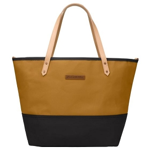 Downtown Tote - Caramel & Black