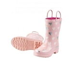Hatley Rainboots - Metallic Hearts