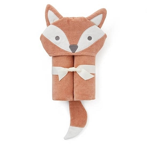 Rust Fox Hooded Towel