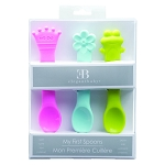 EB Girls 3-pack of Silicone Spoons