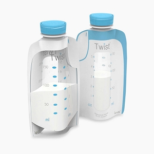 Kiinde Twist Breastmilk Storage Bags 6oz - 40 Count