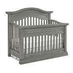 Dolce Babi Marco Convertible Crib - Nantucket Grey