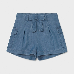 Mayoral Ecofriendly Indigo Loose Shorts