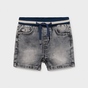Mayoral Ecofriendly Organic Baby Boy Denim Shorts