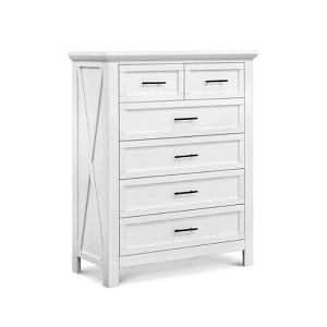 Franklin & Ben Emory Farmhouse Chest - Linen White (Boutique Exclusive!)