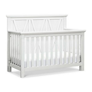 Franklin & Ben Emory Farmhouse 4-in-1 Crib - Linen White (Boutique Exlusive!)