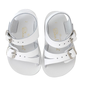 Salt Water Sandals Sea Wees - White