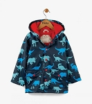 Hatley Rain Coat - Dino Shadows