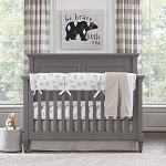 Liz and Roo Crib Bedding Set - Fawn