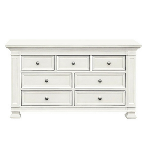Franklin & Ben Classic 7 Drawer Dresser - Warm White