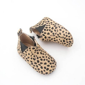 Leopard Baby Boots