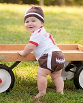RuggedButts Football Diaper Cover