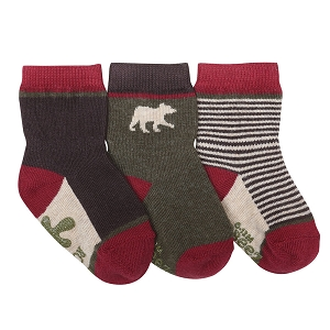 Robeez Forest Dweller Socks, 3-pack