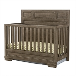 Foundry Crib - Brushed Pewter