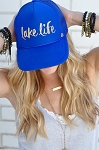 Mother Trucker Hat - Lake Life