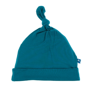 Kickee Pants Solid Knot Hat - Heritage Blue