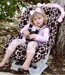 Ginny Giraffe Toddler Car Seat Cover