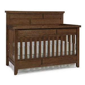 Dolce Babi Grado Full Panel Crib - Farmhouse Brown