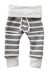 Chunky Gray Stripe Sweats