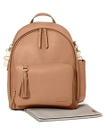 Greenwich Simply Chic Diaper Backpack - Caramel