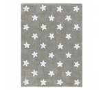 Lorena Canals Grey Stars - White