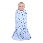 HALO SleepSack Swaddle - Denim Triangle