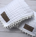 Limited Edition White Heirloom Blanket - SugarBabies Exclusive!
