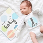 Sticky Bellies - Hello Baby (Boy) Sticker Set
