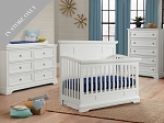 Highland Park Crib, Dresser & Chest Package - White (Boutique Exclusive!)