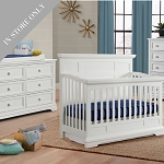 Highland Park Crib & Dresser Package - White (Boutique Exclusive!)