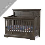 Highland Park 4-in-1 Convertible Crib - Charcoal (Boutique Exclusive!)