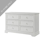 Highland Park Double Dresser - White (Boutique Exclusive!)