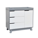 Babyletto Hudson 3-Drawer Changer Dresser - Grey
