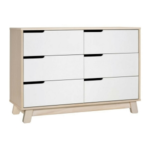 Babyletto Hudson 6-Drawer Dresser - Natural