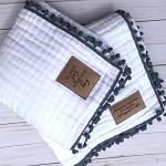 Limited Edition Grey Heirloom Blanket - SugarBabies Exclusive!