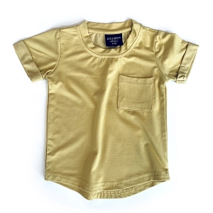 Pocket Basic Tee - Mustard
