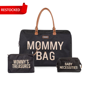 Mommy Bag Black Bundle