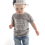 Stuck In The Middle Tee - Grey